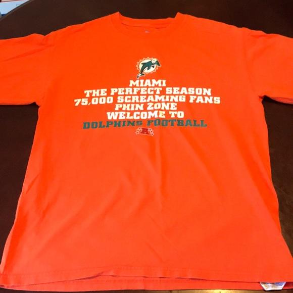 pretty nice f8e3e afe9e Miami Dolphins Shirt Size M NFL